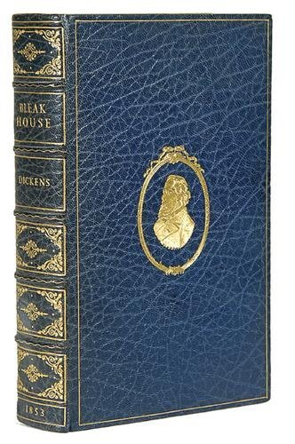 8A: Dickens (Charles) Martin Chuzzlewit, binding