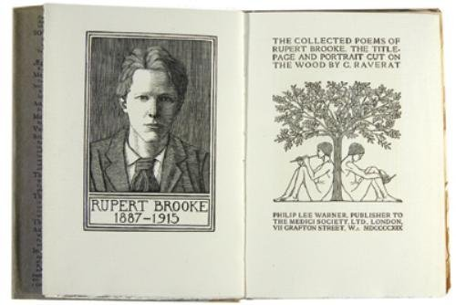 20A: Brooke (Rupert) The Collected Poems...
