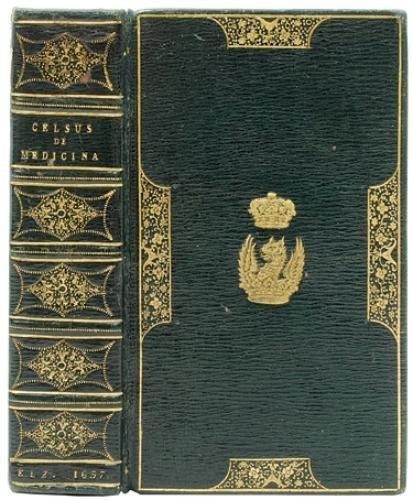 10B: Celsus.De medicina..,Elzevier,1657