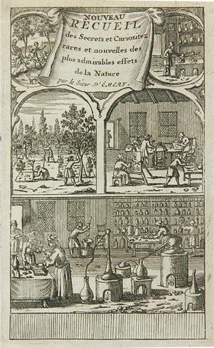 15B: Emery.Nouveau Recueil de Curiositez,1688
