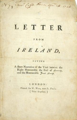 10C: Ireland.- [A] Letter from Ireland