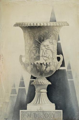 182A: Roch (Yves) A classical vase