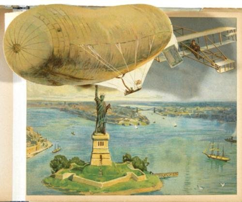 1B: Moving Picture Books. Airship Panorama Book