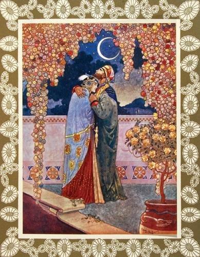 11B: Omar Khayyám. Rubáiyát,1/250,ill.Bull,1910