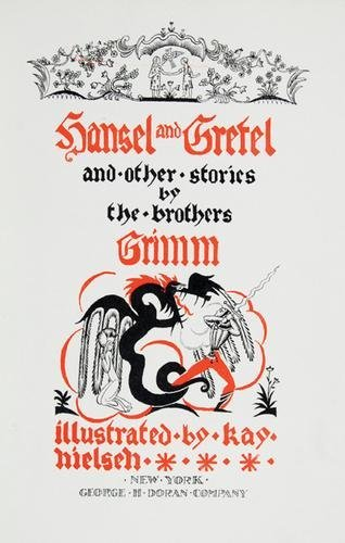 138B: Grimm.Hansel and Gretel,1/600.ill.Nielsen,1925