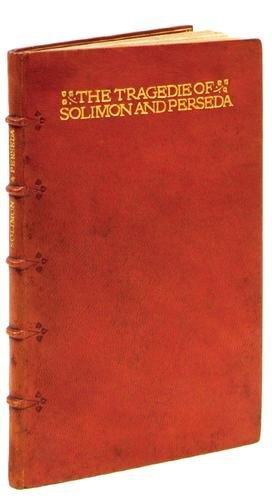 687C: Cockerell Binding Tragedie Solimon & Perseda