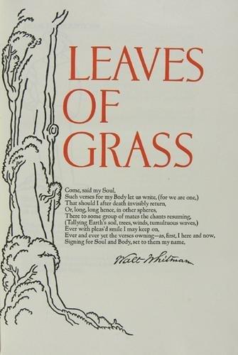 747C: Whitman.Leaves of Grass,1/400,Grabhorn,1930