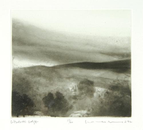 5A: Norman Ackroyd (b.1938) chalk hill covert, asthall