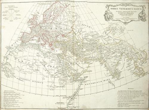 1B: d'Anville (J B) Atlas of Antient Geography