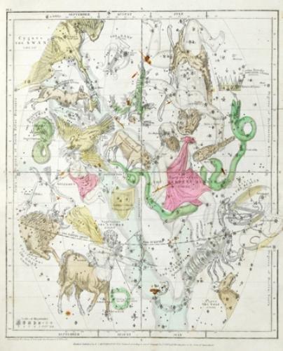 8B: Burritt (Elijah H.) Geography of the Heavens