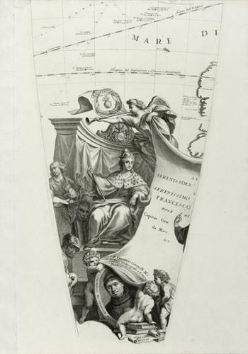 11B: Coronelli (Vincenzo) Set of 24 globe gores