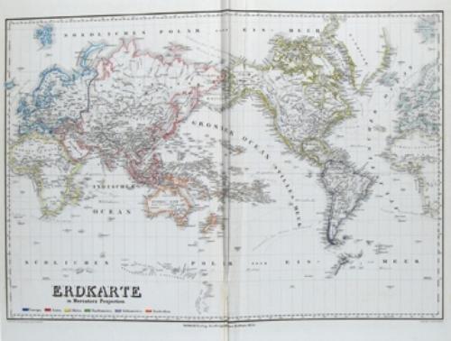14B: Geographischen Institut, Weimar Hand-Atlas