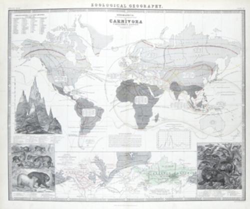 16B: Johnston (A. K.) The Physical Atlas of