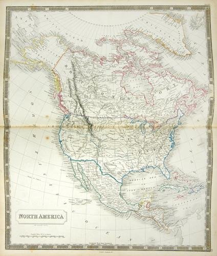 17B: Hall (S) Hall's New General Atlas, A New Edition
