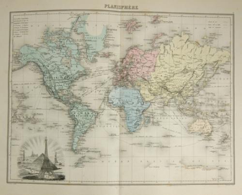 22B: Martineau (M.A.) Nouvel Atlas Illustré