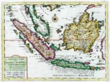 98B Tirion I Nuova Carta delle Isole di Sunda