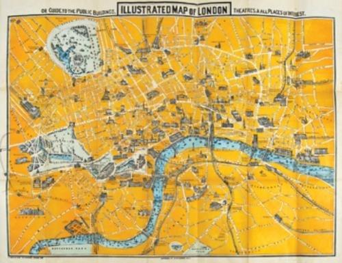 378B: Smith (C.R.) Pub.- Illustrated Map of London