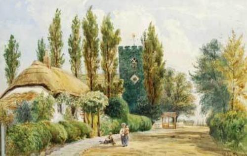 18D: Cheshire.- Appleton (W.L. ) Hale Church