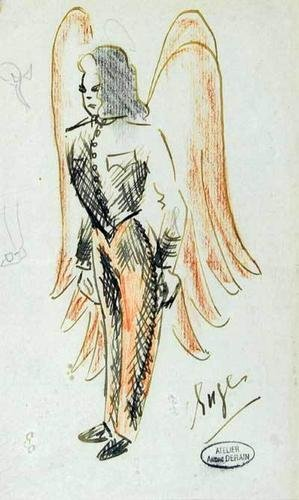 24D: Derain (André, 1880-1954) Ange