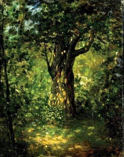 25D: Diaz De La Peña (Narcisse Virgile) Tree