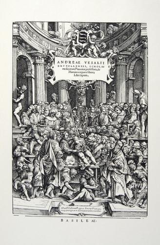 17A: Vesalius, Andreas Icones Anatomicae
