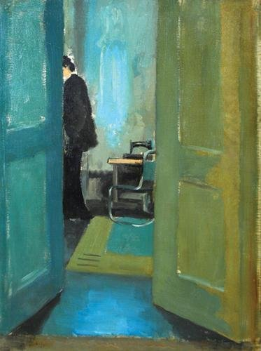 22B: Lynton Harold Lamb (1907-1977) the open door, 1935