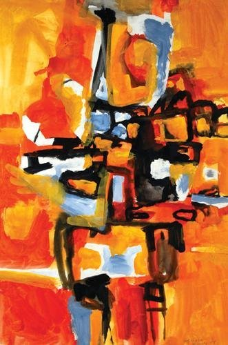 68B: Henry Cliffe (1919-1983) untitled (abstract figure