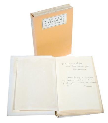 5C: Coppard.Adam & Eve & Pinch Me,inscr,1921