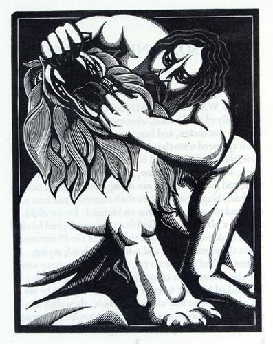 21C: Samson and Delilah,G.Cock,1925