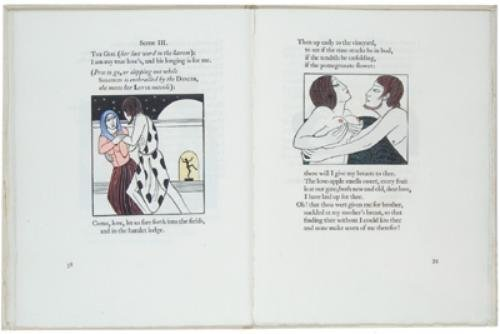 22C: Song of Songs,ill.Gill,h.col.,G.Cock,1925