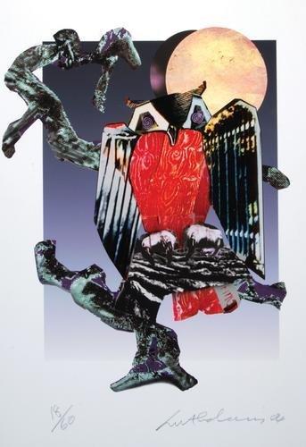 1A: Ivor Abrahams (b.1935) owl