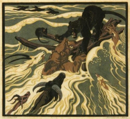15A: Norbertine Bresslern-roth (1891-1978) animals in f