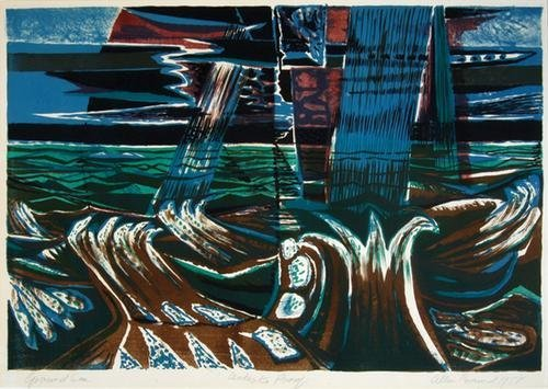 17A: Allin Braund (1915-2004) ground sea
