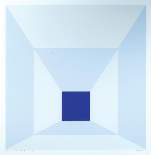 320B: Josef Albers (1888-1976) mitred squares (d.229)