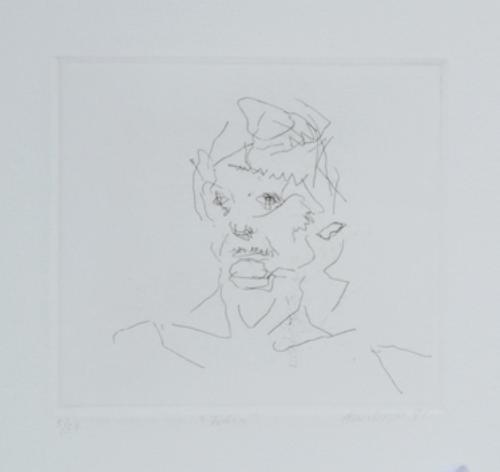 321B: Frank Auerbach (b.1931) julia