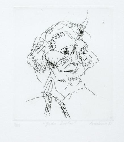 322B: Frank Auerbach (b.1931) gerda boehm