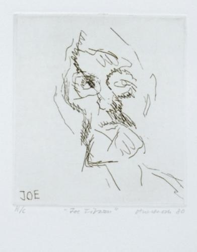 323B: Frank Auerbach (b.1931) joe tilson