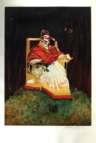 324B: Francis Bacon, portrait of pope innocent x