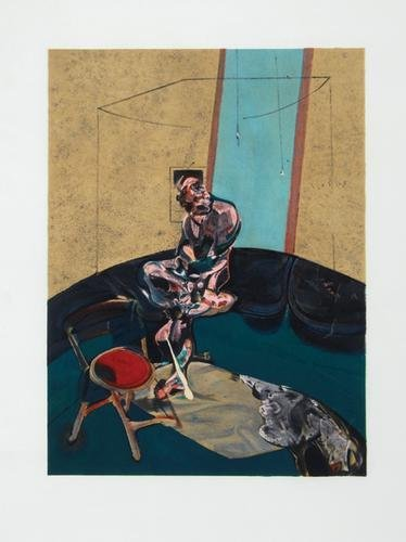 326B: Francis Bacon, george dyer staring at a blind cor