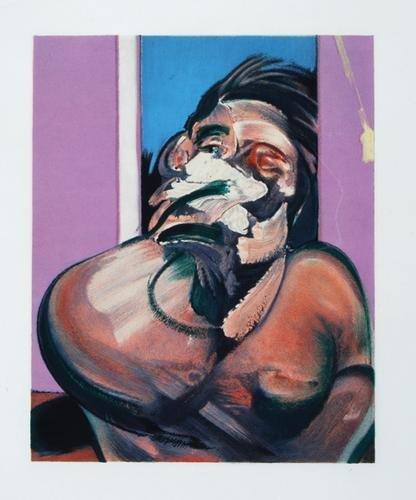 327B: Francis Bacon, portrait of george dyer