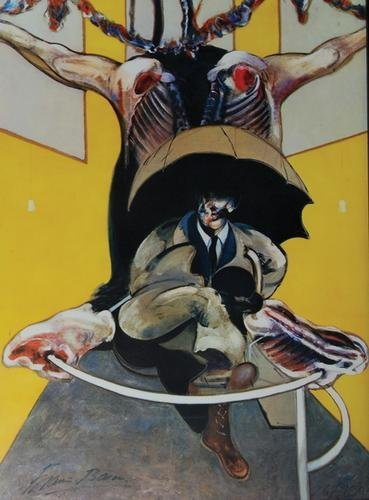 331B: Francis Bacon, 2nd version painting 2