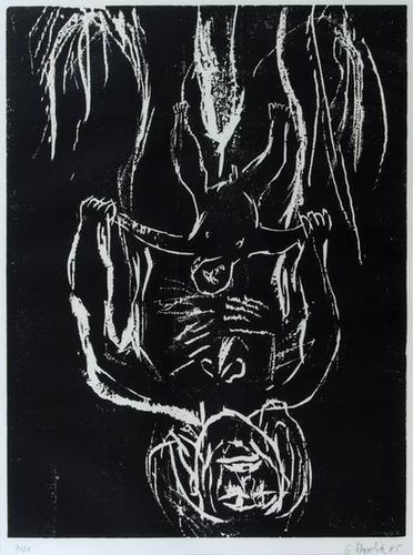 338B: Georg Baselitz schwarze mutter schwarzes kind