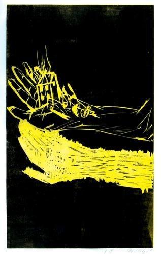 339B: Georg Baselitz (b.1938) untitled
