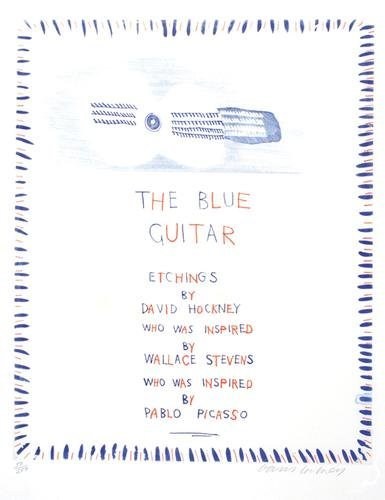 570B: David Hockney, the blue guitar (s.a.c.199)