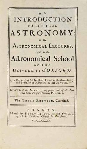 11C: Keill (John)  True Astronomy