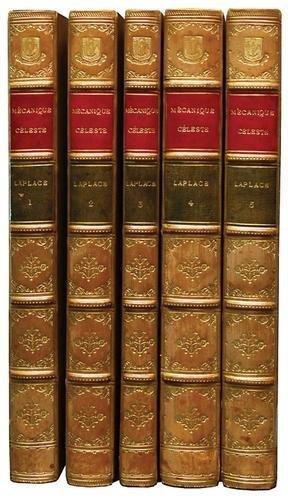 12C: Laplace.Traité de Mécanique Céleste,5v,1799