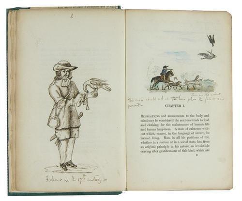 665C: Belany Treatise upon Falconry 1841