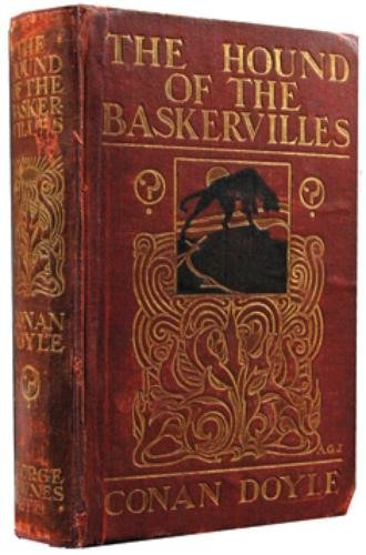 15A: Doyle (Conan) Hound of the Baskervilles