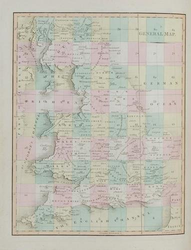 7C: Cary (John) New Map of England and Wales,