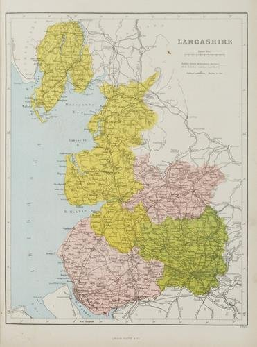 17C: Hughes (W) County Atlas of Great Britain